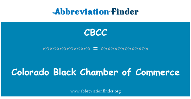 CBCC: Colorado Black Chamber of Commerce
