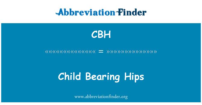 CBH: Sus caderas de niño