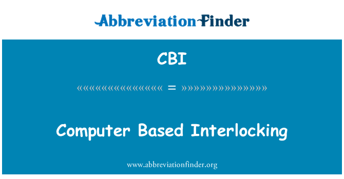 CBI: Computer Based Interlocking