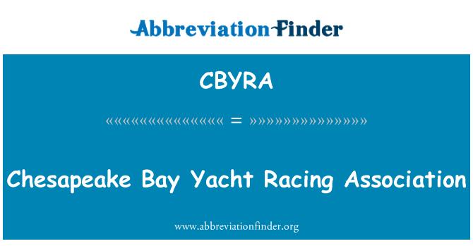 CBYRA: Chesapeake Bay Yacht Racing udruga
