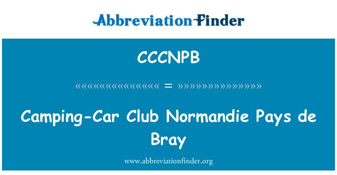 CCCNPB: Camping-Car Club Normandie Pays de Bray