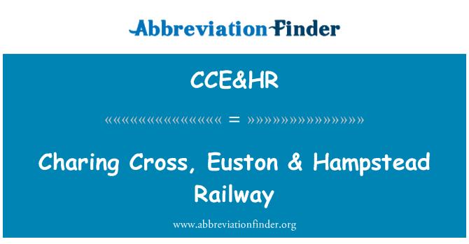 CCE&HR: Charing Cross, Euston & Hampstead Railway