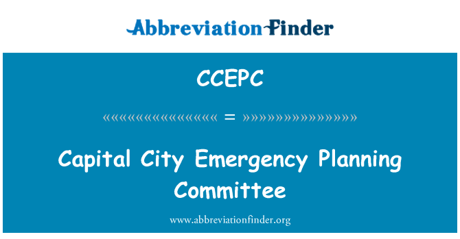 CCEPC: Capital City Emergency Planning Committee