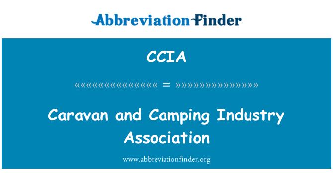 CCIA: Caravan and Camping Industry Association
