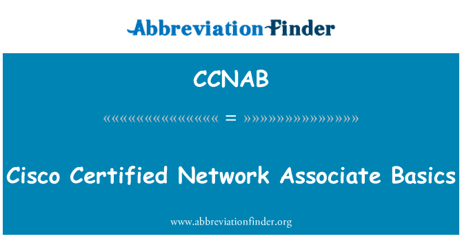 CCNAB: Cisco Certified Network Associate Basics