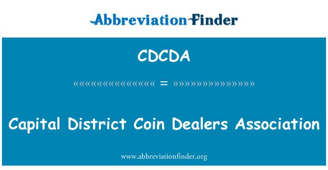 CDCDA: Capital District Coin Dealers Association