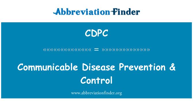 CDPC: Communicable Disease Prevention & Control