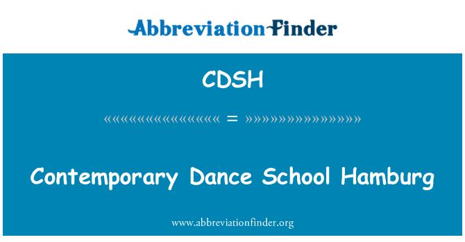 CDSH: Contemporary Dance School Hamburg