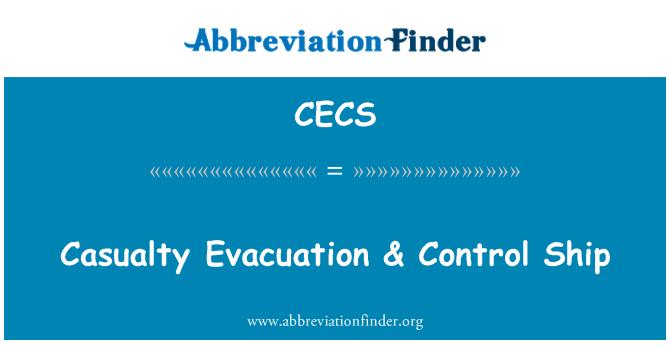 CECS: Evacuación de bajas & nave de Control