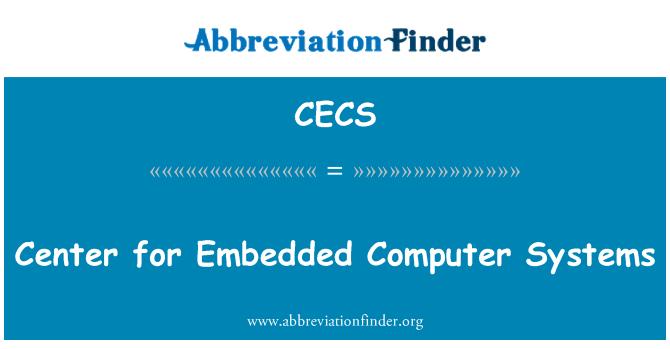 CECS: Centro de sistemas informáticos integrados