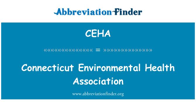 CEHA: کنیٹی کٹ ماحولیاتی صحت کی ایسوسی ایشن