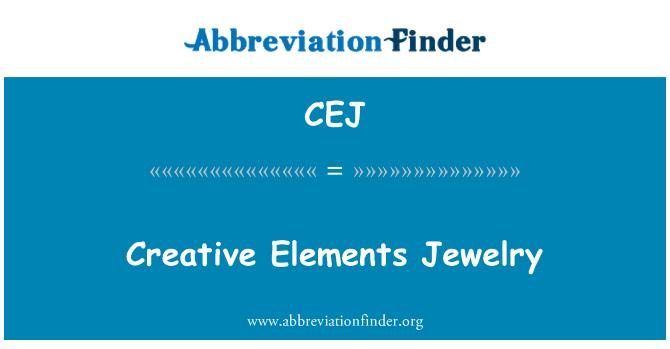 CEJ: Creative Elements Jewelry