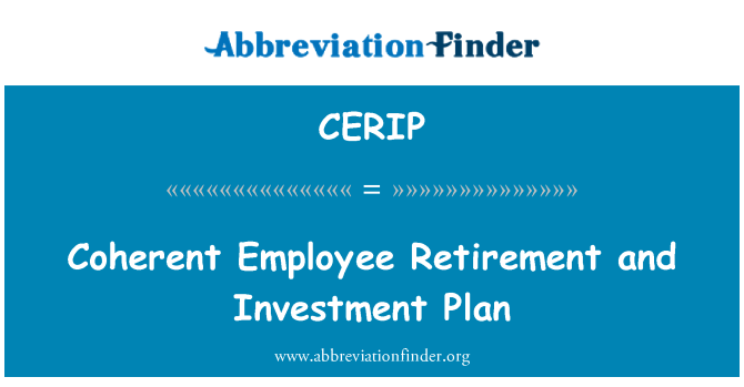 CERIP: Coherent Employee Retirement and Investment Plan
