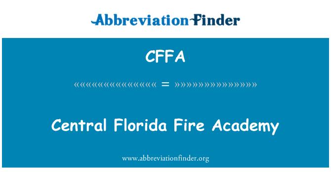 CFFA: Central Florida Fire Academy