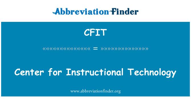 CFIT: Center muusika tehnoloogia