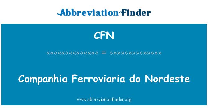 CFN: Companhia Ferroviaria do Nordeste