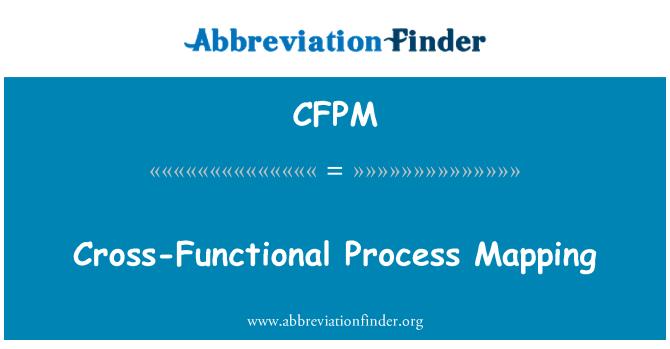 CFPM: Mapeo de procesos interfuncionales