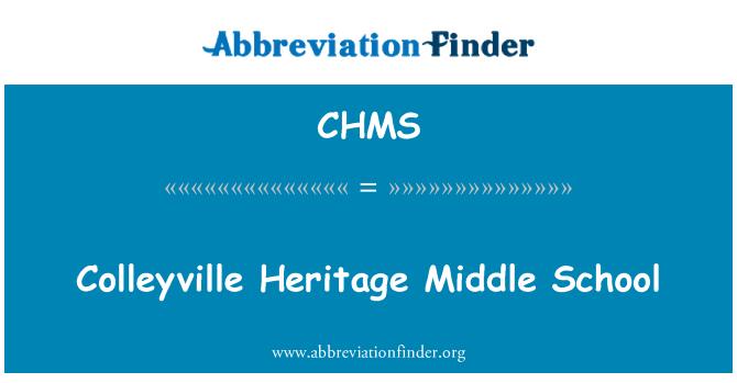 CHMS: Colleyville miras Orta okulu