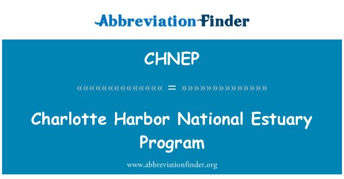 CHNEP: Charlotte Harbor National Estuary Program