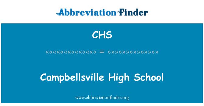 CHS: Campbellsville High School