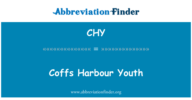 CHY: Coffs Harbour Youth