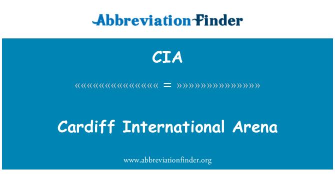CIA: Cardiff International Arena