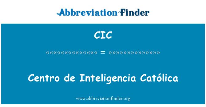 CIC: Centro de terve Católica