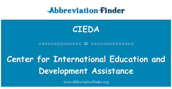 CIEDA: Center for International Education and Development Assistance