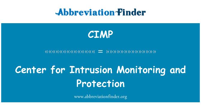 CIMP: Centro para el control de intrusión y protección