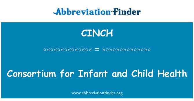 CINCH: Consorcio para la salud infantil y de bebé