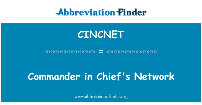 CINCNET: Commander in Chief's Network