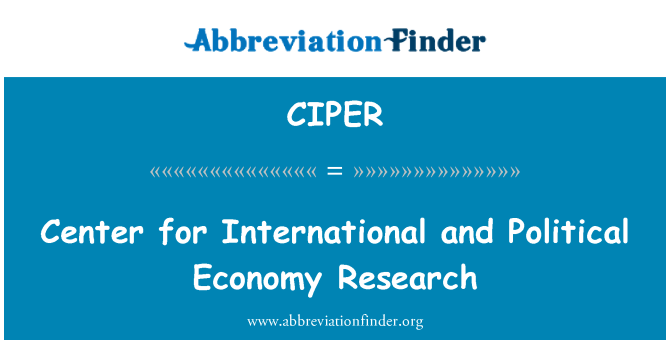 research in political economy Cperc seeks to build on the success of the cultural political economy research  cluster within the institute for advanced studies and the wider academic.