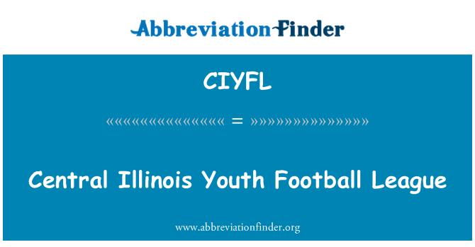 CIYFL: Central Illinois Youth Football League