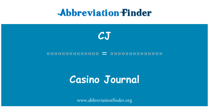 CJ: Casino Journal