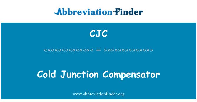 CJC: Cold Junction Compensator