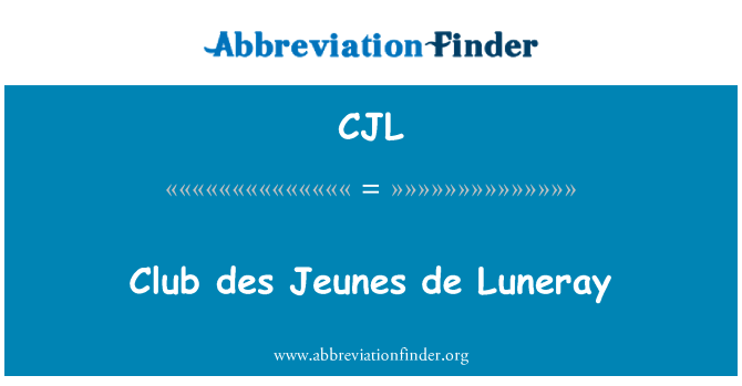 CJL: Club des Jeunes de Luneray