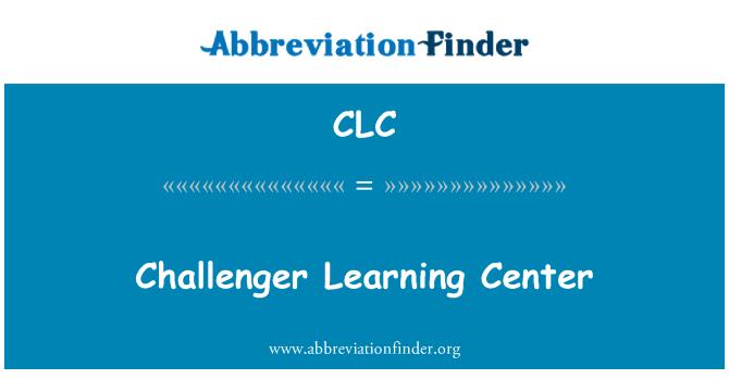 CLC: Centro de aprendizaje retador