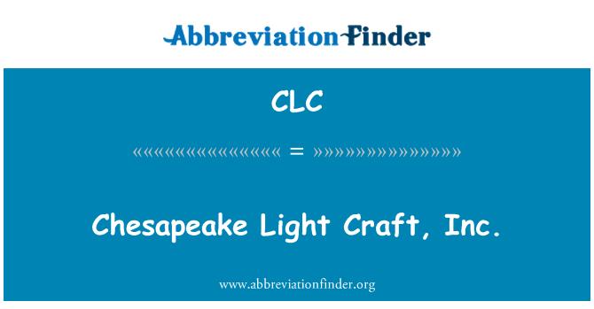 CLC: Chesapeake valguse käsitöö, Inc