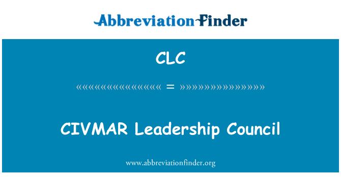 CLC: CIVMAR Leadership nõukogu