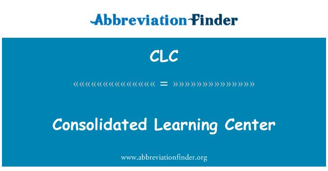 CLC: Konszolidált Oktatóközpont