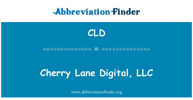 CLD: Cherry Lane Digital, LLC
