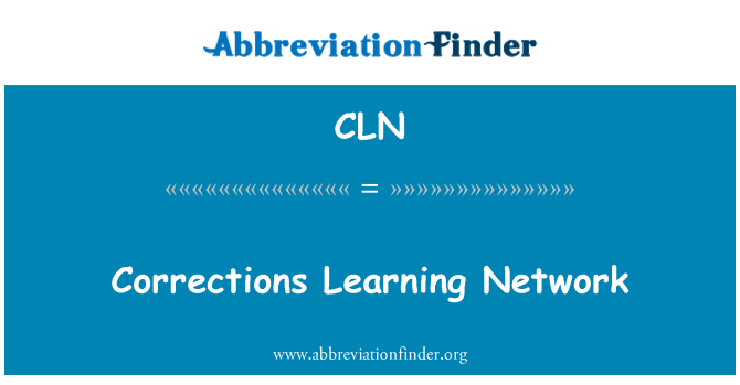 CLN: Corrections Learning Network