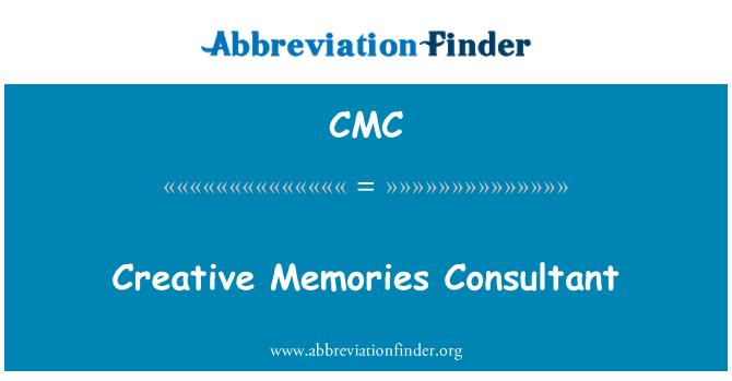 CMC: Creative Memories Consultant