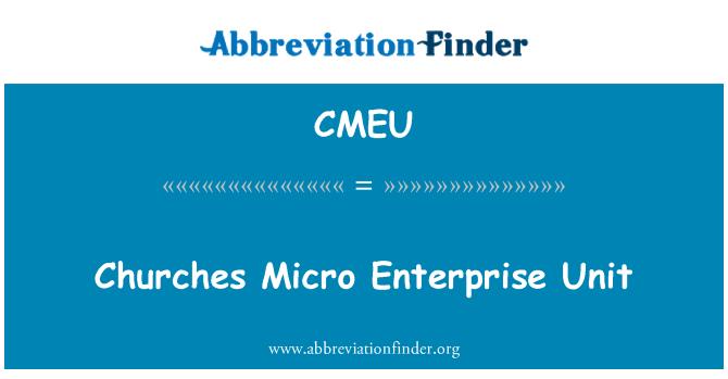 CMEU: Churches Micro Enterprise Unit