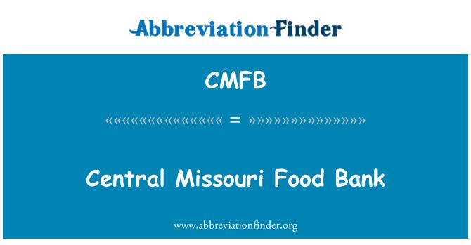 CMFB: Central Missouri Food Bank