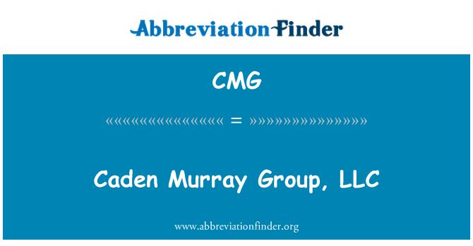 CMG: Caden Murray Group, LLC