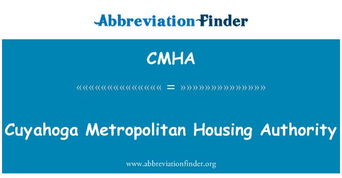 CMHA: Cuyahoga Metropolitan eluaseme asutus