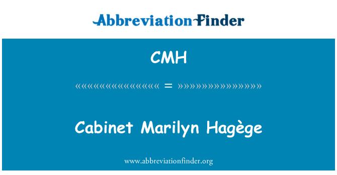CMH: Cabinet Marilyn Hagège