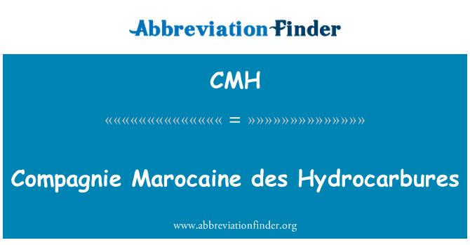 CMH: Compagnie Marocaine des Hydrocarbures