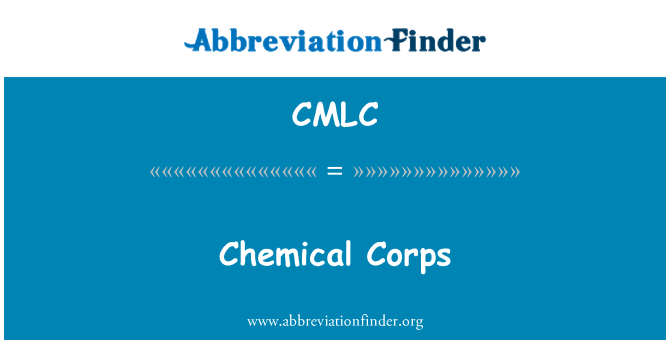 CMLC: کیمیائی کور